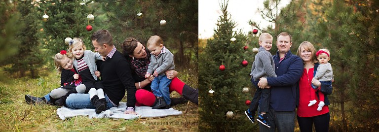Christmas Tree Farm Photography.Christmas Tree Farm Mini Pajama Mini Sessions Lake